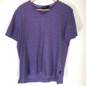 Hugo Boss purple slim fit T-shirt size XL